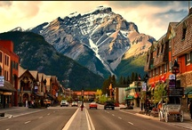 Canada - Alberta  / From the amazing snow-capped mountains to the icy blue water below, each image of Alberta has left me breathless. What a gorgeous place it would be to discover! Having never traveled outside of the west coast of the United States, I look forward to exploring the beauty that is Canada.