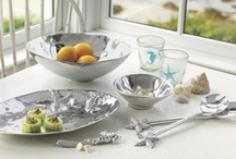 Mariposa Best Wedding Gifts / *Finalist* - A seaside wedding with gorgeous gifts from Mariposa to fit the theme.