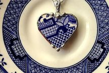 a Passion for Blue & White / by Martha Garrido