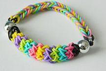 coolest rainbow loom stuff / by Sabrina James