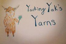 Yakking Yak's Yarns / All of my personal crochet creations.