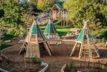 Play Outdoors / Nature Play Garden Ideas,