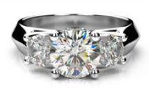 Zásnubné prstene biele zlato / Zásnubný prsteň s diamantom biele zlato 14 karátové