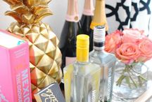 Cocktails and Bar Carts / All things happy hour! Everything from cocktail recipes to bar cart inspiration!