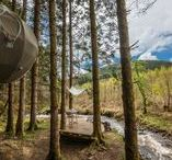 Glamping in the UK / Beautiful glamping pods, destinations and locations across the UK