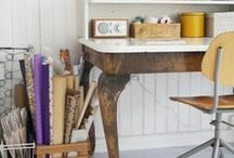 Home - DIY Furniture Hacks / Making things better, more functional, using items for other than their original purpose, and combining pieces to be greater than the sum of their parts. / by Stephanie