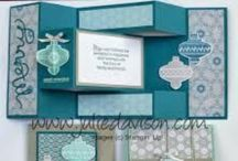 Cards & Paper Crafts / Cards, Stamps, Stampin' Up, SU, Punches, Framelits, Big Shot, Sizzix Dies, Paper Crafts, Paper Lanterns,  / by Sharmel Hegge