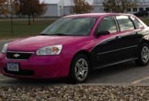 Pink/magenta vehicles / Mostly cars-because a pink/magenta one is on my bucket list!