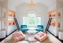 { KIDS ROOMS & DECOR } / Inspired home decor, rooms and spaces for babies, kids, and children