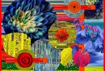 Art - mixed media Collage / by CREAgeous Living!