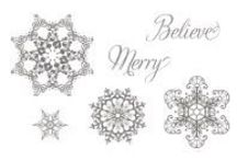 SU Snowflake Soiree / Buy this stamp set in Wood #127922 or Clear #127925 - Find these stamps and more in our Spring Catalog: http://www.stampinup.com/ECWeb/ItemList.aspx?categoryID=1178&demoID=2114846