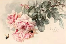 Vintage Floral Artists that I Admire