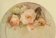 Vintage China Painting  / by Christie Repasy Designs