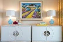 { EMILY LAMARQUE DESIGN STUDIO } / Interior design by Emily LaMarque Design Studio, fun, fresh, modern, colorful