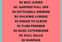 Crossfit workouts / by Lindsay Baisley