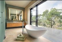{ BATHROOMS } / Gorgeous bathrooms and spa-like retreats at home