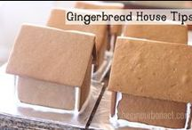 Foods-Gingerbread houses