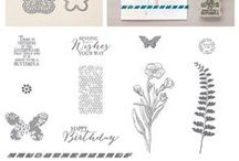 SU :: Butterfly Basics / See 2015/16 AC pg 124. Coordinates with  Butterfly thinlits and Bitty Butterfly punch. Buy this stamp set here: http://www.stampinup.com/ECWeb/ProductDetails.aspx?productID=137154&demoid=2114846