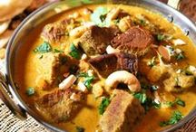 Indian Non-Vegetarian / Indian Meat, Seafood and Egg dishes: starters, mains & sides!