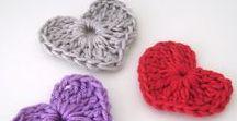 Crochê / Peças feitas de crochê