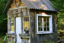 Cabins / by Mary Coakwell-D'Attilio