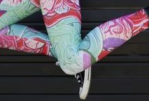 Leggings | Wear / Leggings have arrived at Redbubble. Shiny, stretchy leggings in thousands of designs made by independent artists means the fashion world is your Lycra-clad oyster. Any design imaginable—you can make it yours today.  / by Redbubble