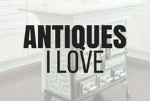 Antiques and Collectibles / Antiques are some of my favorite things to shop for. This board is dedicated to the creativity behind some of the rehabs of these Antiques and also beautiful pieces in tack from when they were first created!