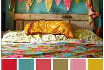 Paint Palette / Paint colors that inspire me, color combinations I would like to try, color ideas, etc. / by Jennifer Elrod