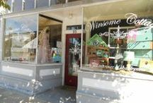 Winsome Windows / We love our front windows at Winsome and want to share with you our different looks:)