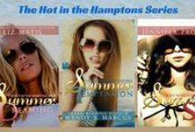 THE HOT IN THE HAMPTONS SERIES / The series you've been waiting for... Summer Dreaming by Liz Matis Summer Temptations by Wendy S. Marcus Summer Sins by Jennifer Probst