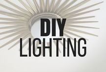 DIY Lighting Ideas / All DIY-er's love a good lighting project! Check out these creative and beautiful diy lighting projects and tutorials! Your home could benefit from one of these projects for sure. From beaded chandeliers to industrial pendant lamps, this board has a variety of styles and tutorials ranging from easy to advanced. #diyhomelighting #diylightingideas #homelightingideas #lightingprojects #lamps #lightingupcycle