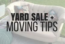 Yard Sale and Moving Tips / Are you moving soon or just looking to make some extra money, then this is the board for your to best execute your yard, garage, or estate sale! There are also helpful tips on packing and moving.
