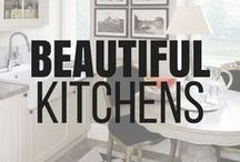 Kitchen Decor Ideas / Looking for inspiration on how to decorate your kitchen? Check out kitchen decorating ideas, inspiration, diy kitchen decor, kitchen organization, and shopping tips. #kitchenideas #kitcheninspo #kitcheninspiration #kitchenlove #kitchendecoronabudget #kitchenorganization