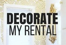 Apartment Decorating on a Budget / Being a renter doesn't have to limit your ability to express yourself in your apartment. Check out the amazing rental friendly decor options you have to decorate your home and apartment to fit your personality and allow you to easily restore your apartment when you move! #apartmentdecoratingideas #apartmentdecorating #rentalhomedecorating #decorating #homedecoronabudget #rentalhome #apartmentdecor  #decoratemyrental