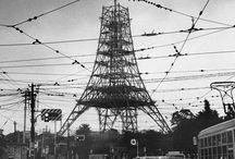 timemachine / 加藤嶺夫さんの写真を見ながら現在の場所をGoogleストリートビューで探すのは楽しいですね。昭和30年代の東京が一番好きですが、それ以外の写真も魅力があればPinしています。