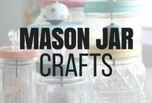 Mason Jar Crafts / Mason jar crafts and other fun diy projects for any occasion. Upcycling and repurposing mason jars into something useful or into beautiful home decor. Mason jars can also make amazing centerpieces and holiday decor. Check out all the creativity on this board. It is sure to spark ideas for you to repurpose the mason jars you have been collecting. #masonjarcrafts #diyprojects #masonjars #diycrafts #repurpose #recycle #reuse #upcycle