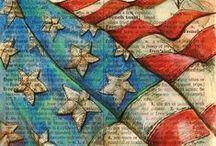 July 4th Celebration & Patriotic America / by Diana L Denney