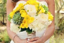 My dream - REAL- Wedding! / My yellow and grey color themed Spring wedding in Scottsdale Arizona. Everything was perfect!