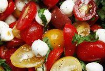 Salads / healthier options / by Loreal DeJesus