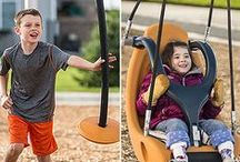 Playground Innovations / Innovation in playground design has been our passion for more than 30 years.