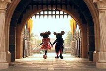 Mickey and Minnie Mouse / by Cass