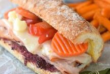 Sandwich Recipes / Tons of delicious sandwich recipes in all shapes and flavors! / by Lisa (Wine & Glue)