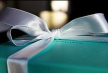 Tiffany & Co / My heart belongs in a little blue box... / by Cass
