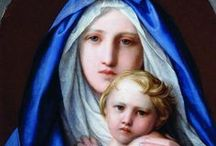 Blessed Virgin Mary, Mother of God / Mary, the mother of Jesus, and the many, many titles of our blessed Lady