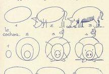 Como Desenhar: Praça do Gado | How to Draw: Farmer's Market