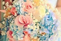 ✿ Flower inspiration / Stunning flower arrangements to compliment any type of wedding decor.