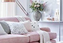 pink, rózsaszín / Rózsaszín az otthonokban