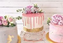 ✨ Wedding cakes & food / Mouthwatering wedding cake and food inspiration to match style of your wedding - whether it is a grand wedding cake to match your beautiful, traditional venue, a trendy, naked cake to go with your rustic warehouse wedding or a wonderful doughnut tower to match your and your partner's quirky personalities.