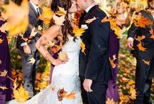 ✨ Autumn wedding / Inspiration for a striking Autumn / Fall wedding.