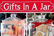 Gift. Jar. / Gifts in a Jar. / by Pamela Fosse
